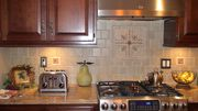 Same cabinets, new molding - River Vale